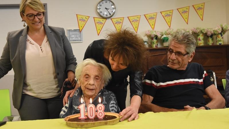 « Jeanne » Reboul, doyenne des Agathois, a fêté ses 108 ans