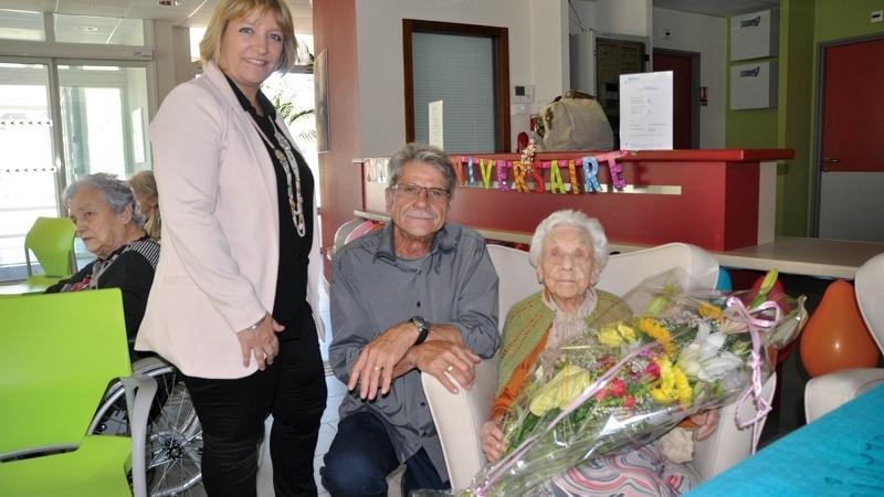 Madeleine Reboul a fêté ses 105 ans !