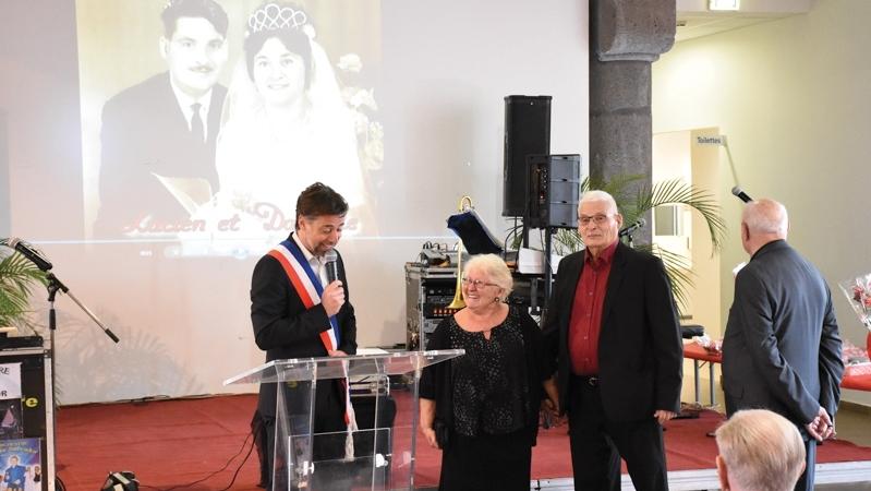 Une belle cérémonie des Noces d'Or pour les aînés d'Agde