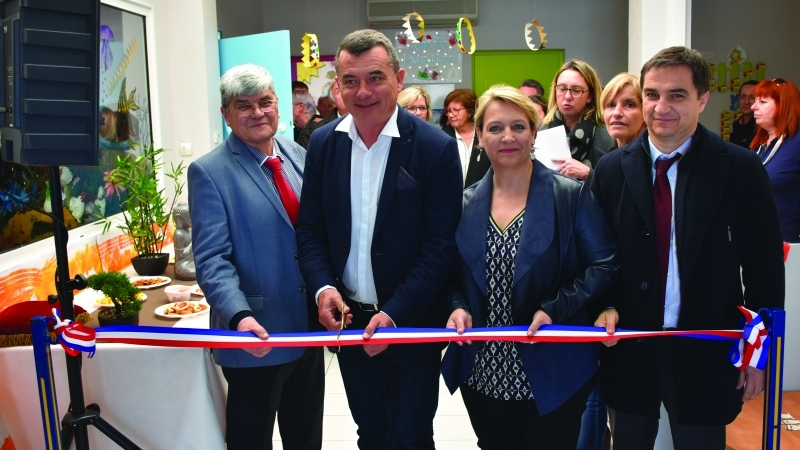 L'extension de la crèche Louise-Michel inaugurée
