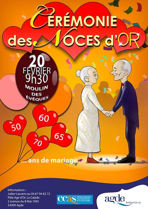 50 ans de mariage texte - Cadeau noce d or ...